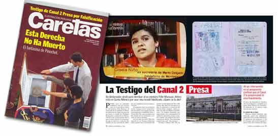 Gisela Vanessa NIÑO PAZ Presa